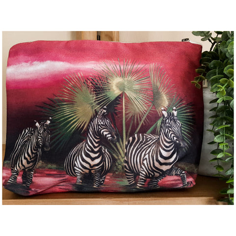 Toiletry Bag - Zebra