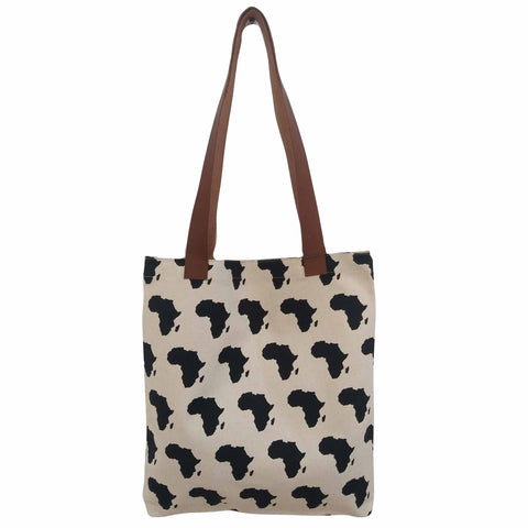 Tote Bag - Black Africa