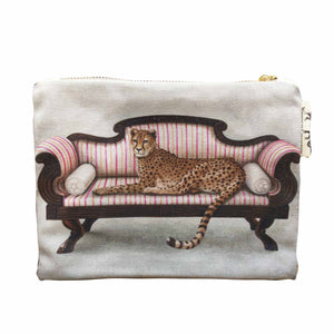 Small Canvas bag - Cheetah