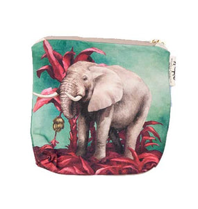 Small canvas bag - Elephant