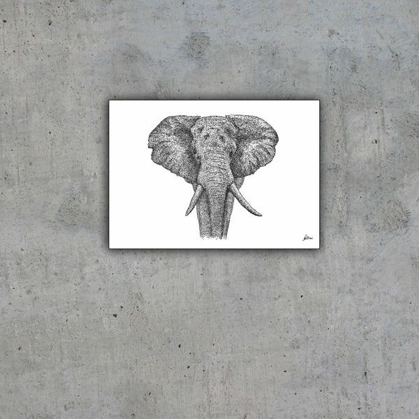"African Elephant ""Majestic"" Limited Edition Print"