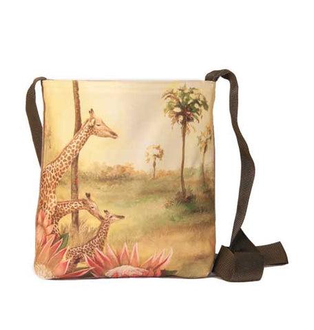 Wildlife Sling bag - Giraffe
