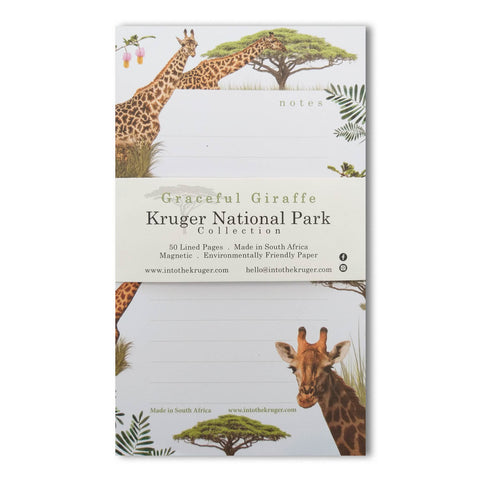 Wildlife Notepad - Kruger National Park - Giraffe