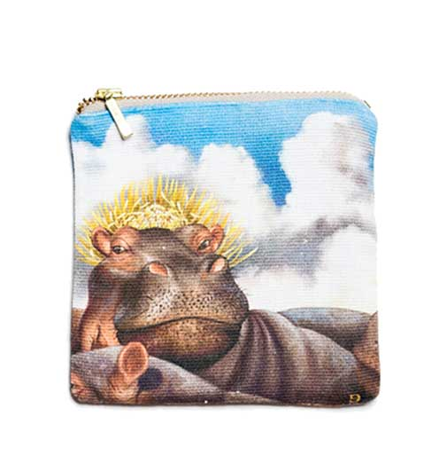 Coin Purse - Hippo