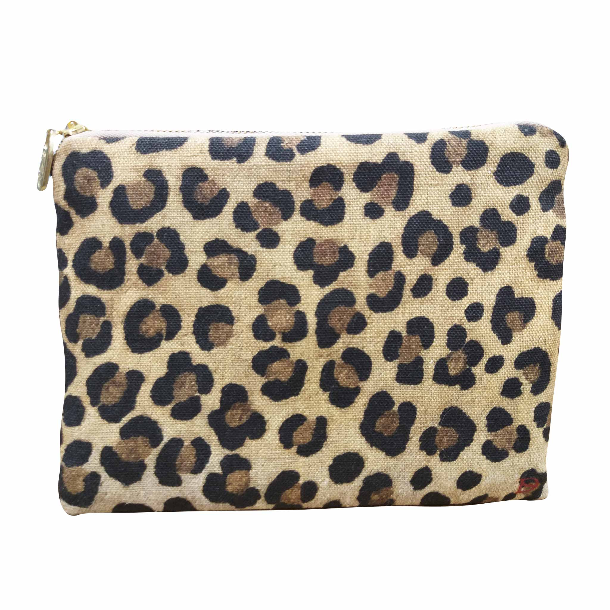Leopard Print Boutique Bag