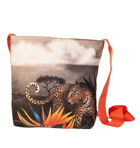 Wildlife Sling bag - Leopard