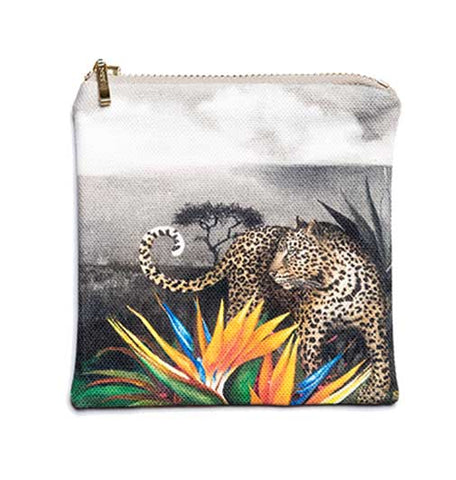 Coin Purse - Leopard