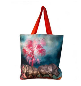 Large Canvas Bag - Rhino