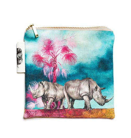 Coin Purse - Rhino