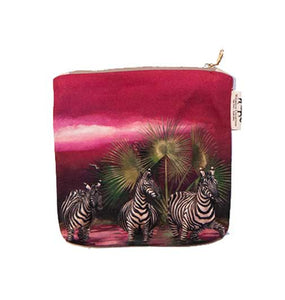 Small Canvas Bag spirit design - Zebra