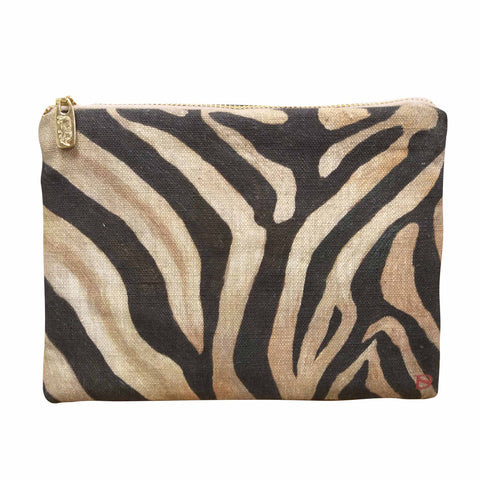 Zebra Print Boutique Bag