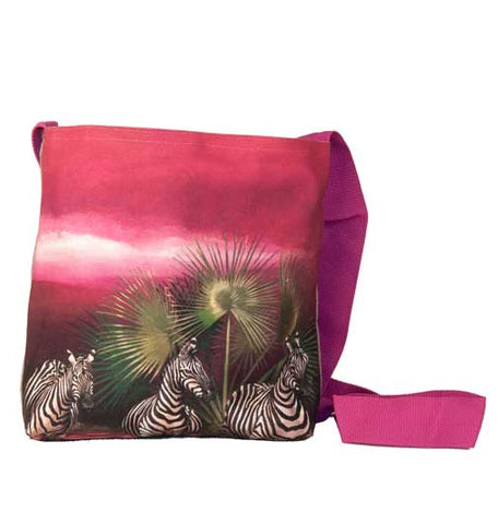 Wildlife Sling bag - Zebra