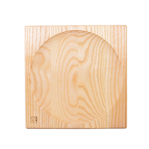 Mader Wooden Ash Plate for Spinning Tops