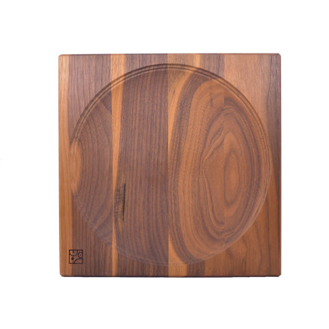 Mader Wooden Nut Plate for Spinning Tops
