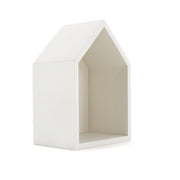 CLiCQUES Wooden House White