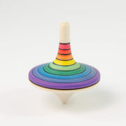 Mader Large Rallye Spinning Top Rainbow