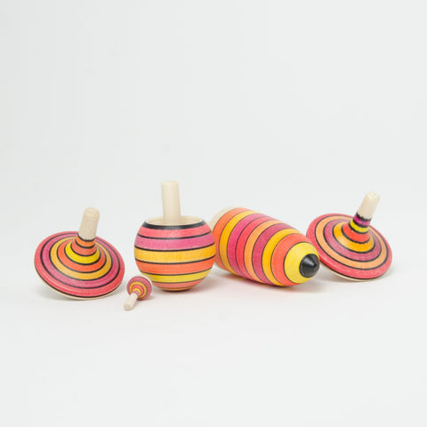 Mader Learning Set of Spinning Tops