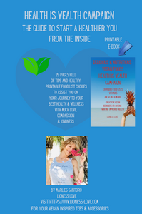 Health Is Wealth Campaign Printable E-Book