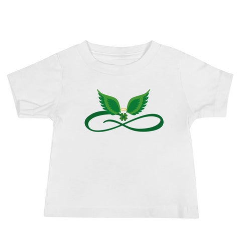 Infinity Angel Wings Baby Tee