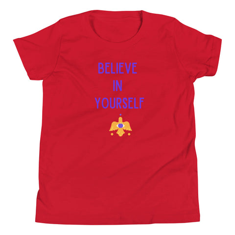 Kids T-Shirt Believe In Yourself