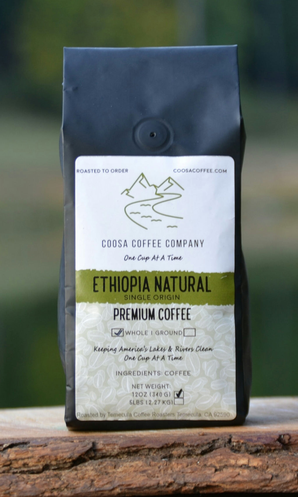 Ethiopia Natural - Medium/Light Roast