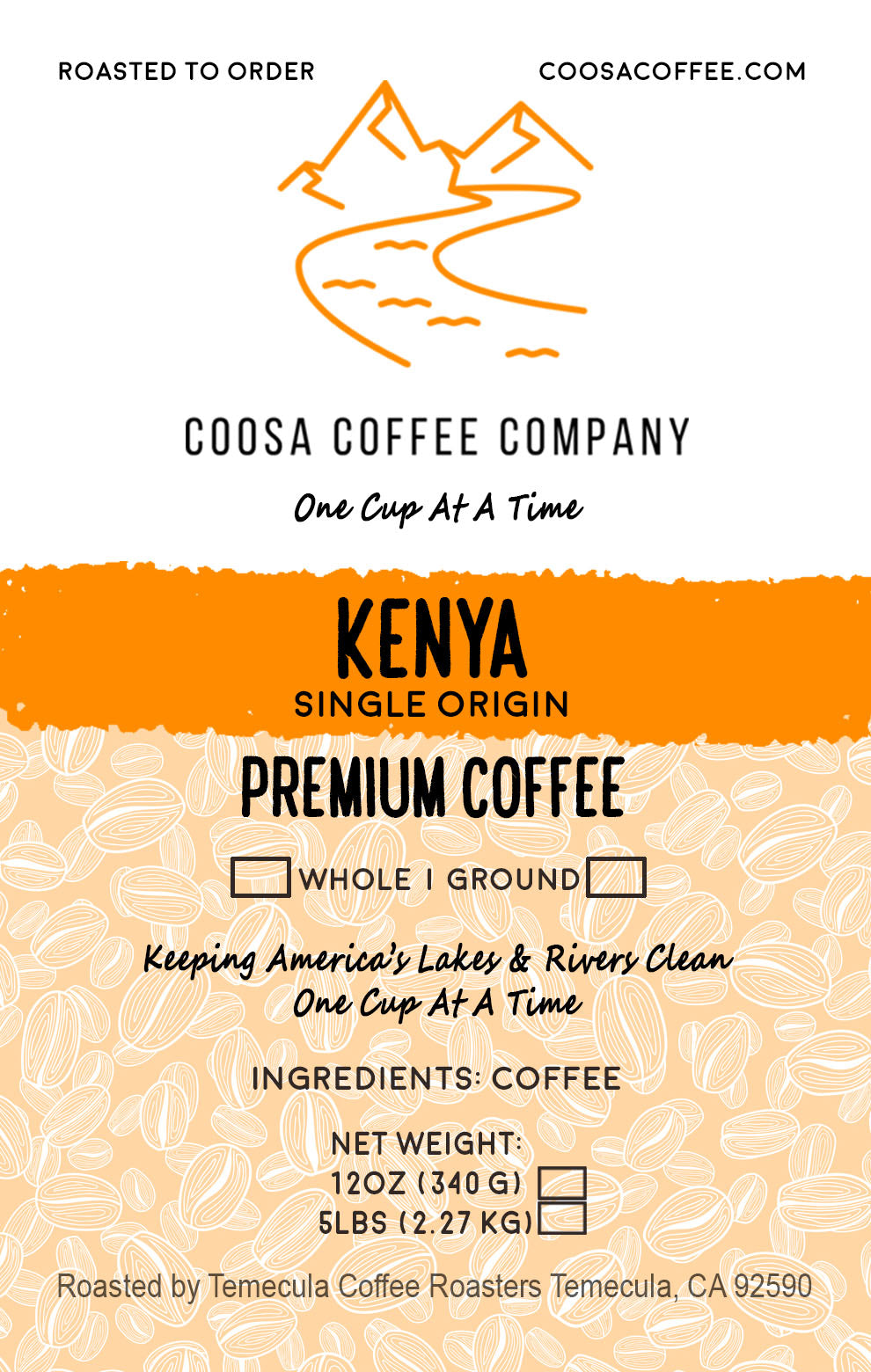 Kenya - Medium/Light Roast