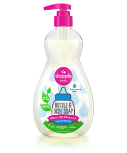 Dapple Baby Bottle & Dish Soap - Fragrance Free