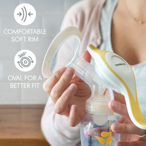 Medela - NEW Harmony® Manual Breast Pump with PersonalFit Flex™