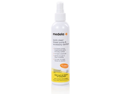 Medela Quick Clean Breast Pump & Accessory Sanitizer Spray