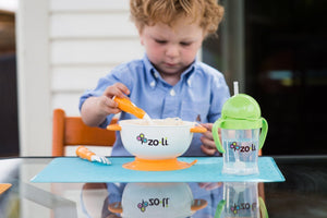 Stuck - Suction feeding bowl kit - Zoli