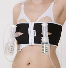 Load image into Gallery viewer, PumpEase - Hands free pumping bra - Tuxedo