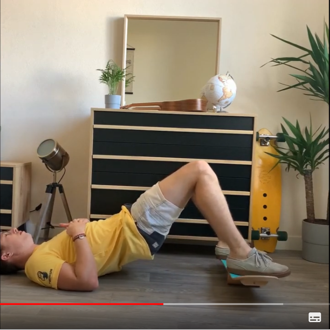 "Tuto N°3 TWOB-SPORT by FLV: ""Travailler vos fessiers avec votre Balance Board"""