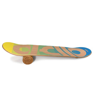 Balance Board TWOB-SPORT DECADE Blue Yellow