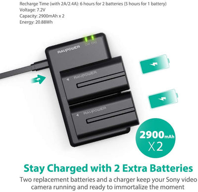 NP-F550 Battery Charger for Sony