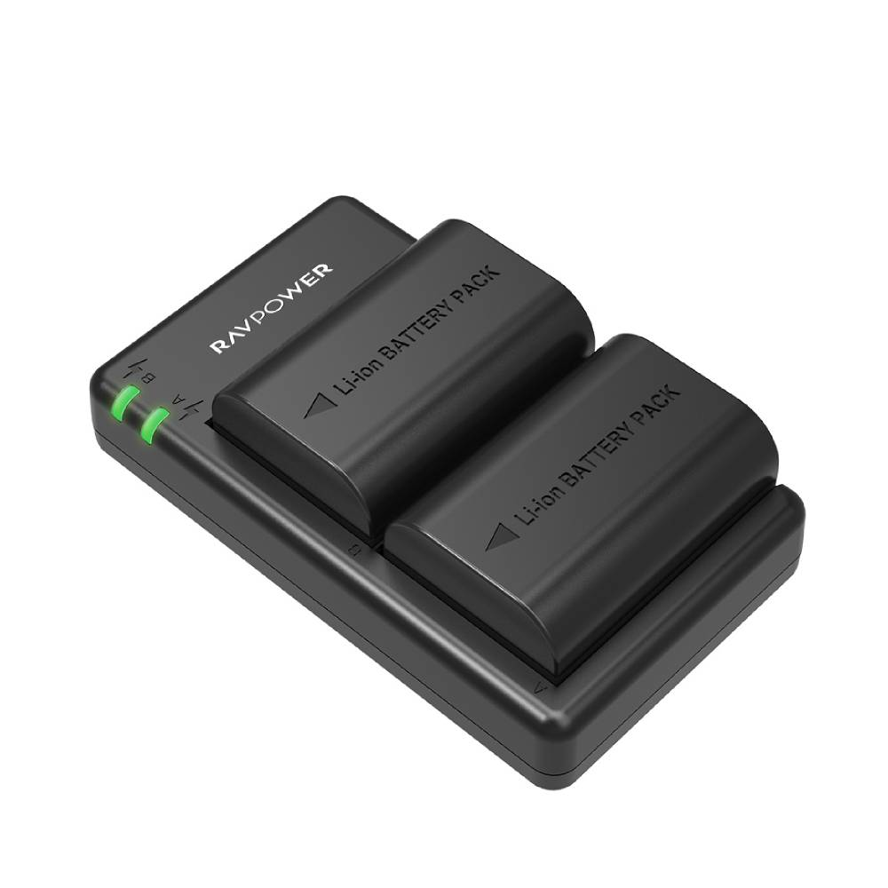 LP-E6 LP E6N Rechargeable Battery Charger Set