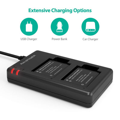 NP-45A NP-45B NP-45S Camera Battery Charger Set Compatible with Fujifilm