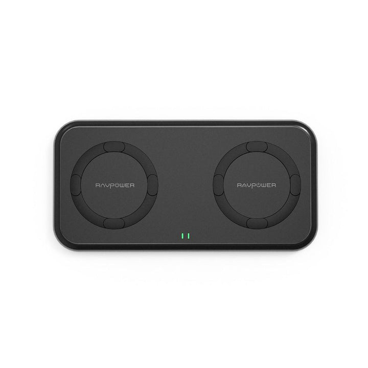 RAVPower 10W Dual Coils Wireless Charger