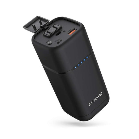 PD Pioneer 20000mAh 80W AC Portable Laptop Charger-RAVPower