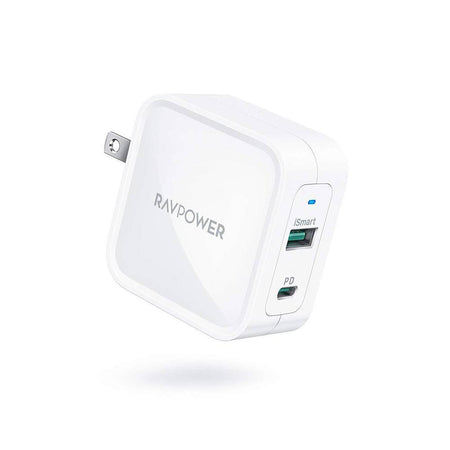 iPhone12 PD Pioneer 65W GaN Tech USB C Wall Charger-RAVPower