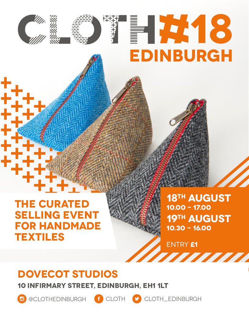 Textile show at the dovecot edinburgh on the 18th and 19th August.