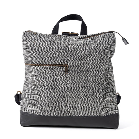 HEPBURN LARGE BACKPACK CHARCOAL