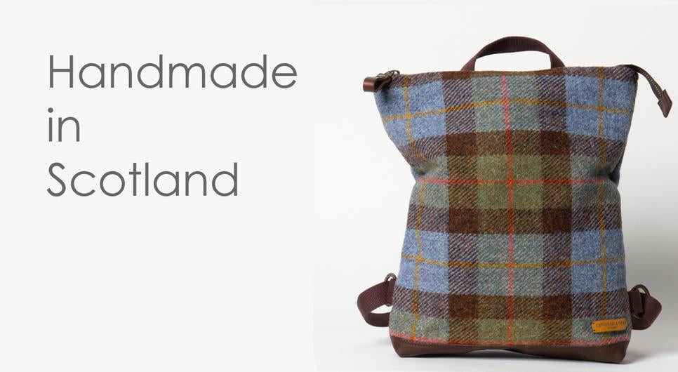Harris Tweed Messenger Bags in a selection of colours