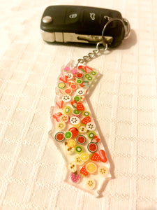 CALIFORNIA DREAMIN' - Fruity Summer Keychain