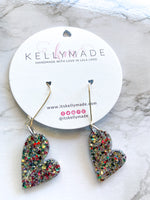 READY-TO-SHIP LOVE Dangles - multi colors