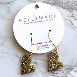 READY-TO-SHIP LOVE Dangles - champagne
