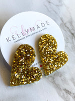 READY-TO-SHIP MEGA LOVE Studs - gold