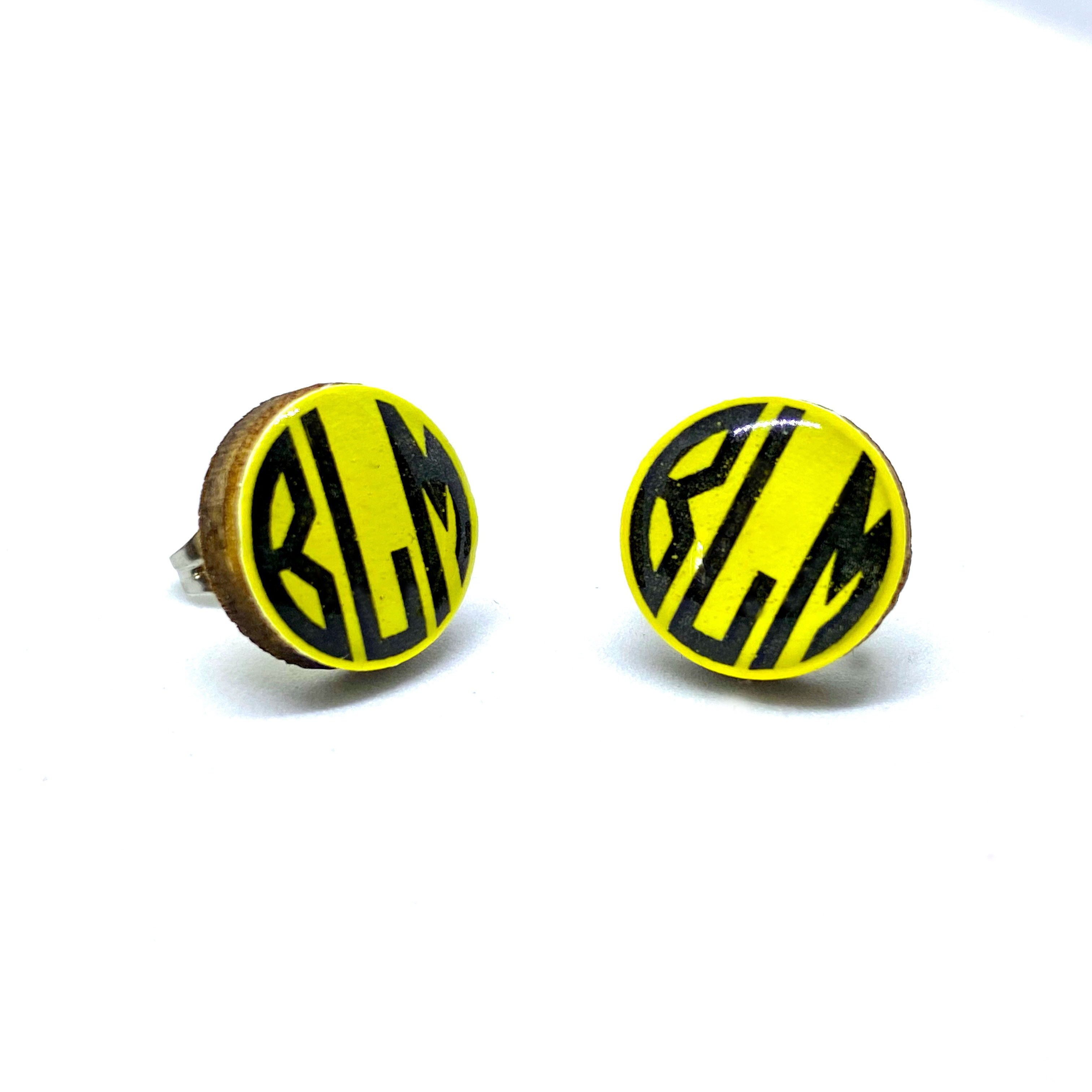 BLACK LIVES MATTER • Resin + Wood Studs