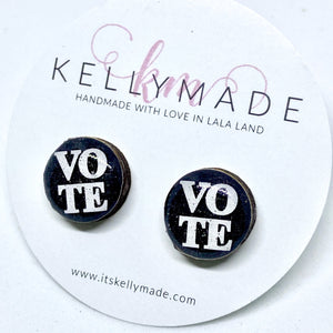 VOTE • Resin + Wood Studs
