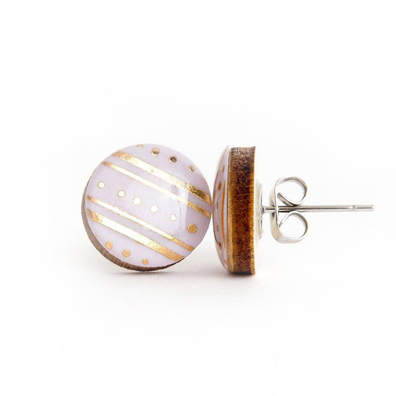 GOLDEN HIGHWAY • Resin + Wood Studs