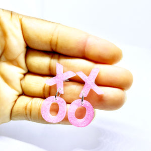 XOXO Mini Letter Dangles